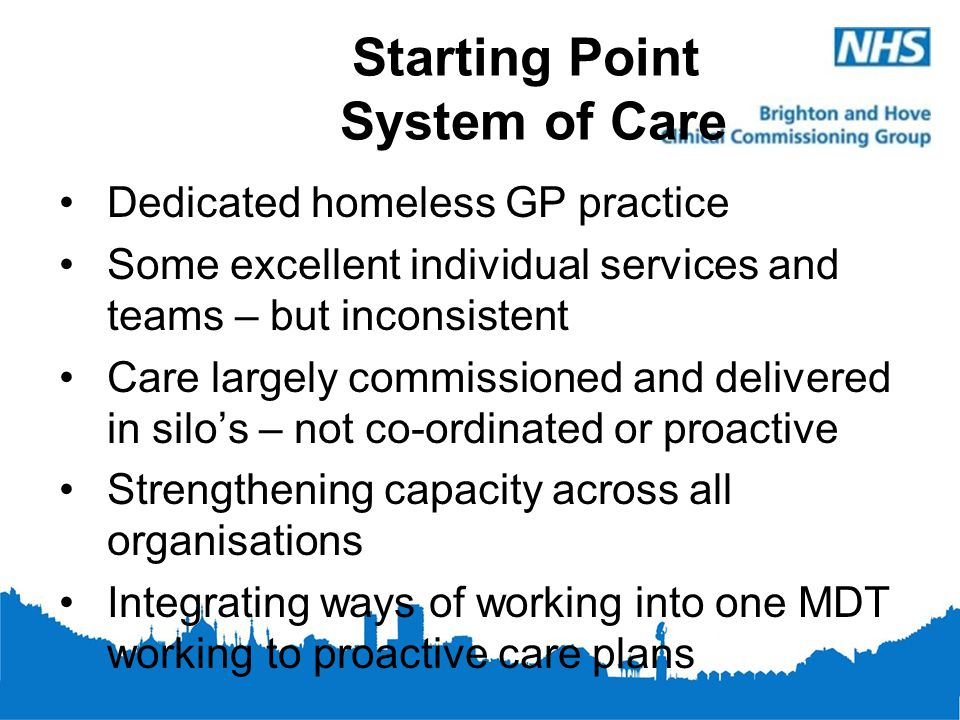 Starting Point System of Care