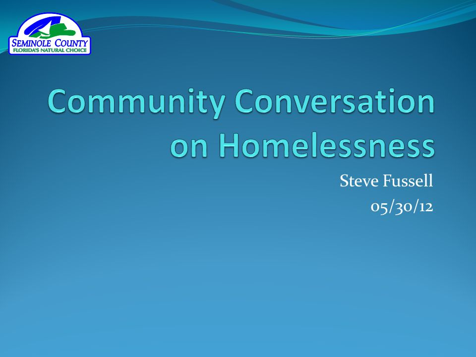 Community Conversation on Homelessness