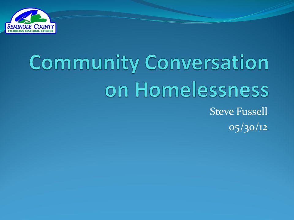 Community Conversation on Homelessness