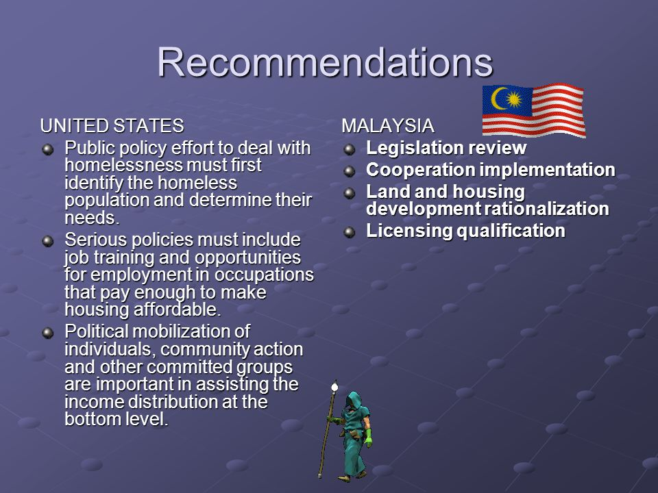 Recommendations UNITED STATES