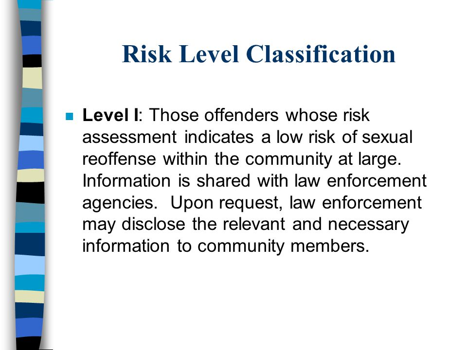 Risk Level Classification