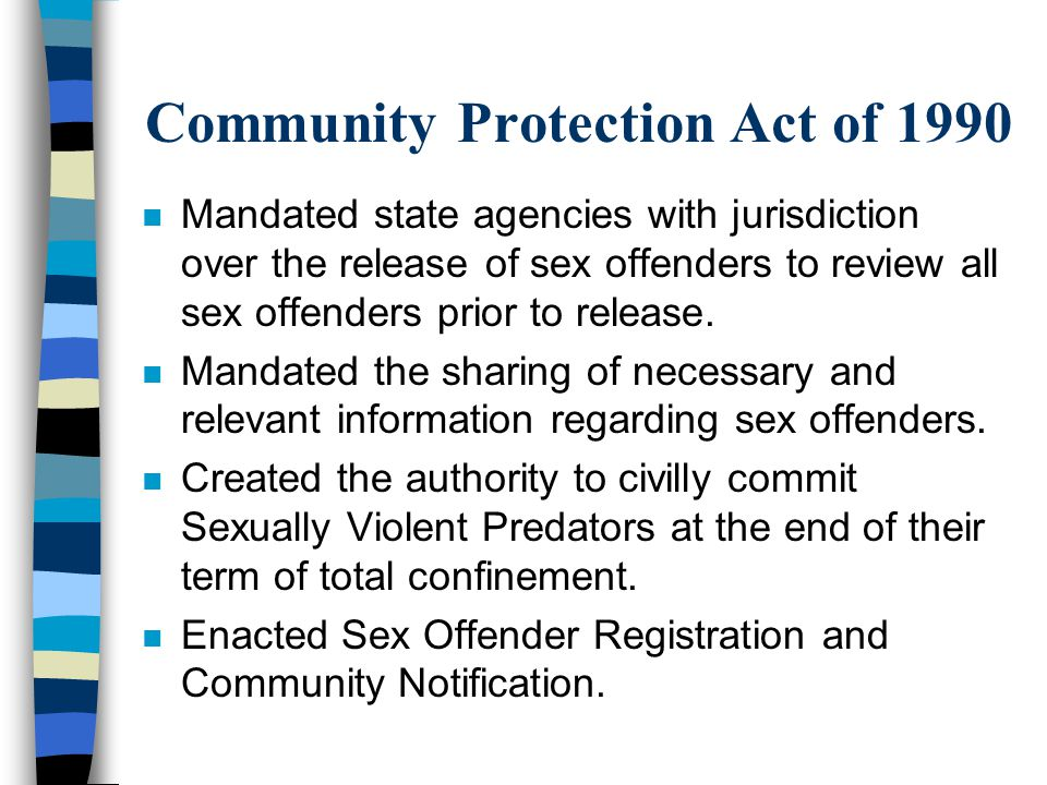 Community Protection Act of 1990