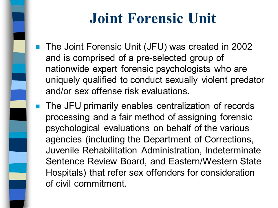 Joint Forensic Unit
