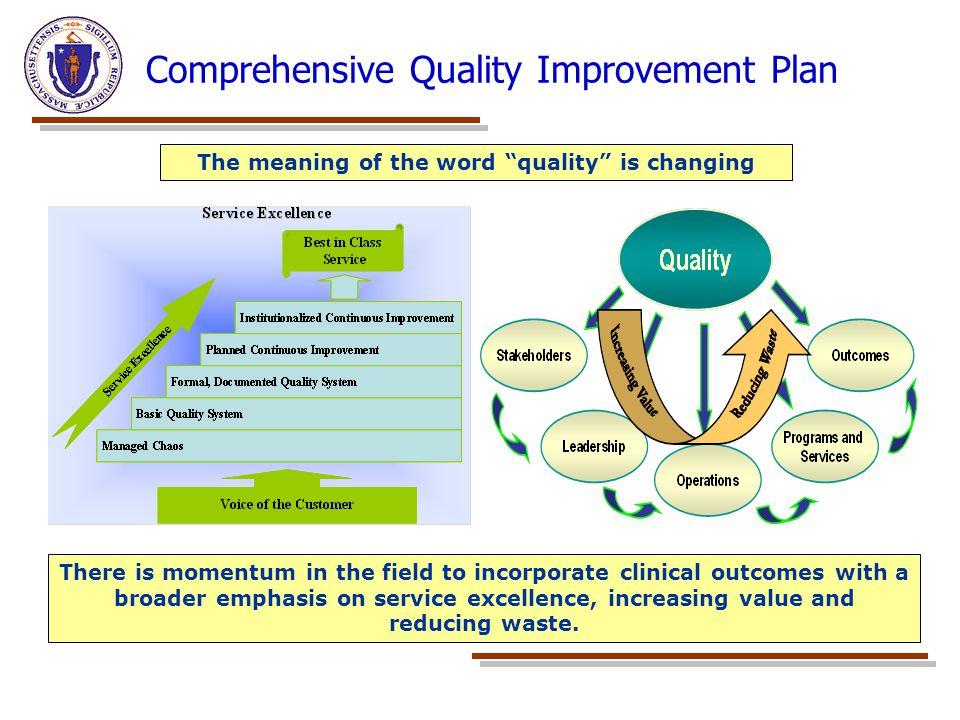 Comprehensive Quality Improvement Plan