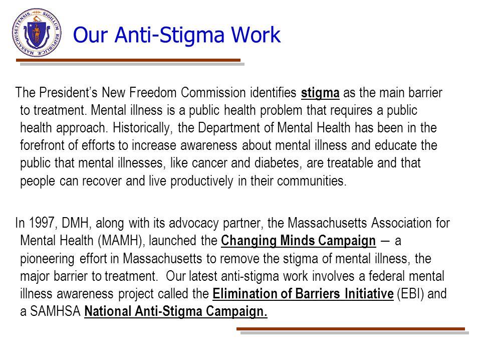 Our Anti-Stigma Work