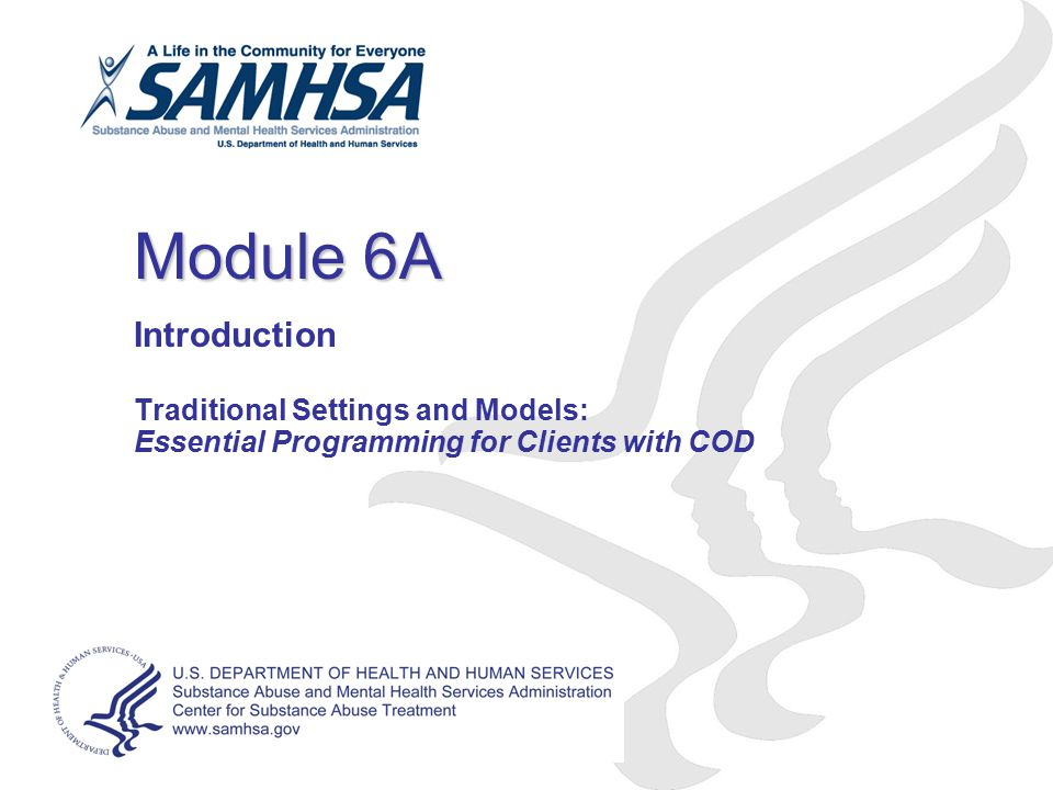 Module 6A Introduction Traditional Settings and Models: