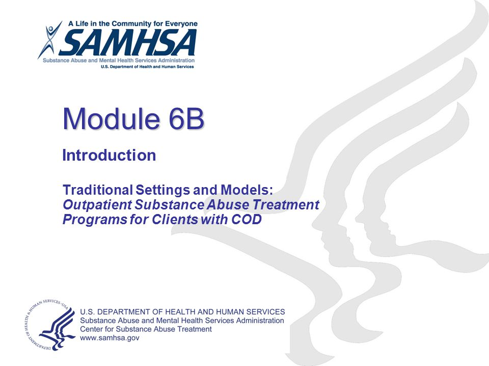 Module 6B Introduction Traditional Settings and Models:
