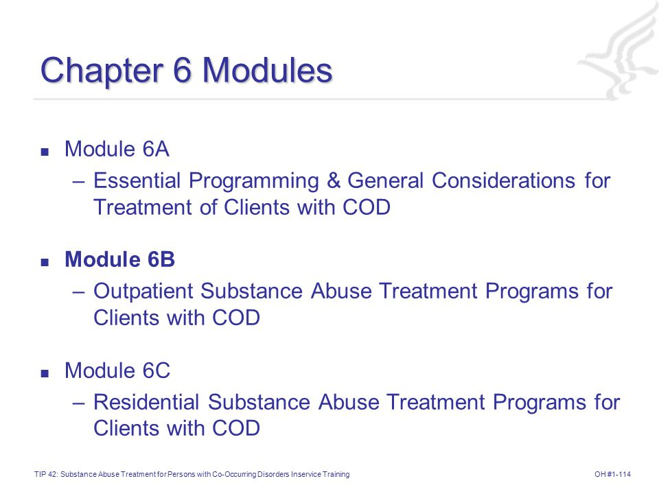 Chapter 6 Modules Module 6A