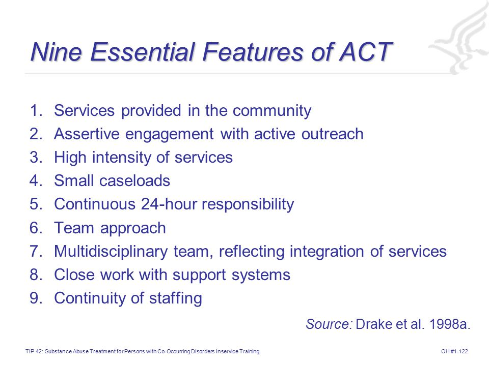 Nine Essential Features of ACT