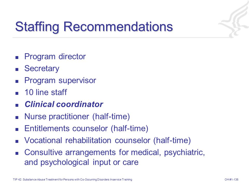 Staffing Recommendations