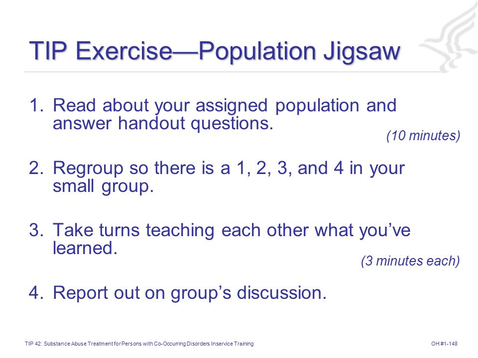TIP Exercise—Population Jigsaw