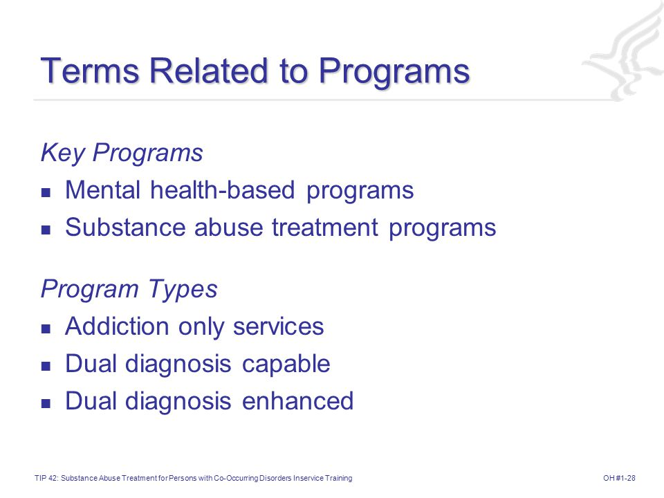 Terms Related to Programs