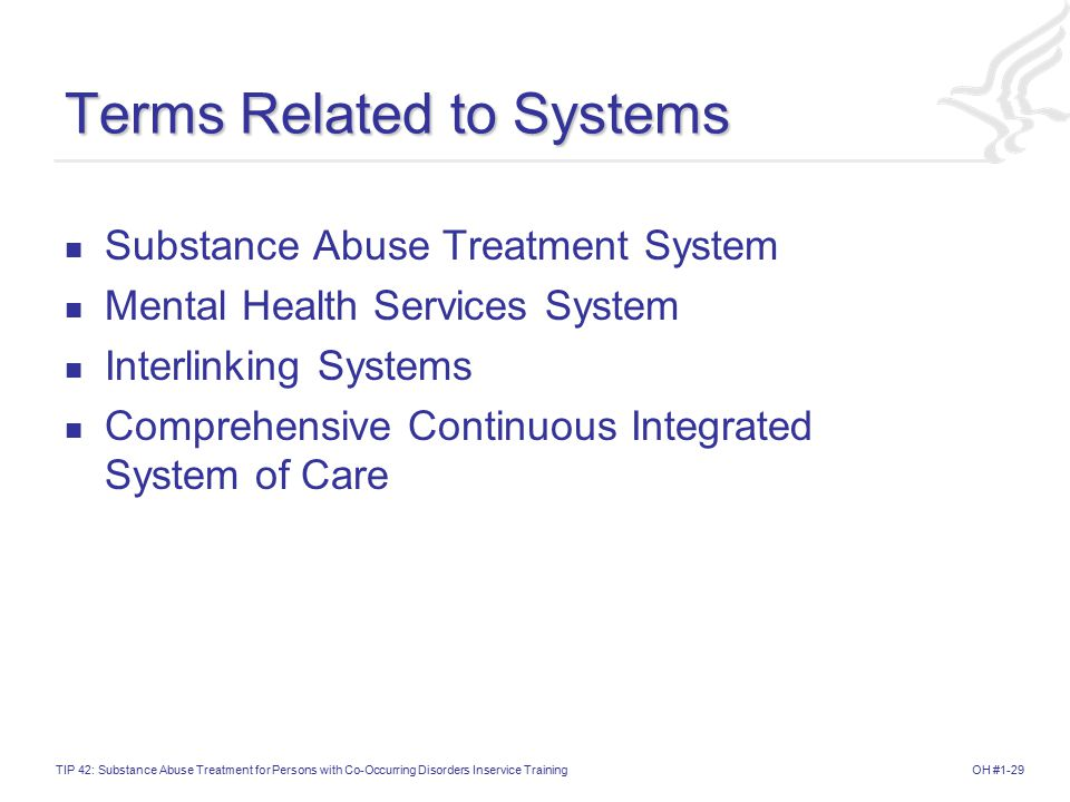 Terms Related to Systems