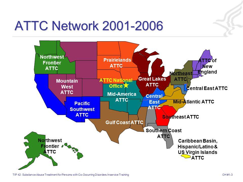 ATTC Network 2001-2006 Northwest Frontier ATTC Prairielands ATTC