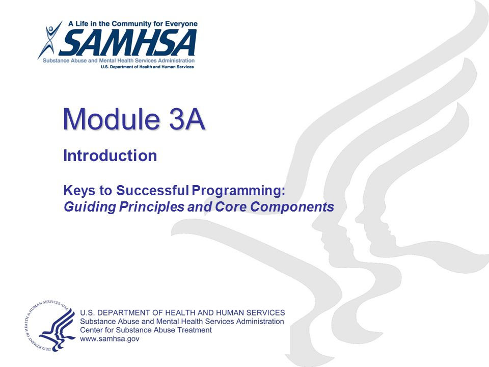 Module 3A Introduction Keys to Successful Programming: