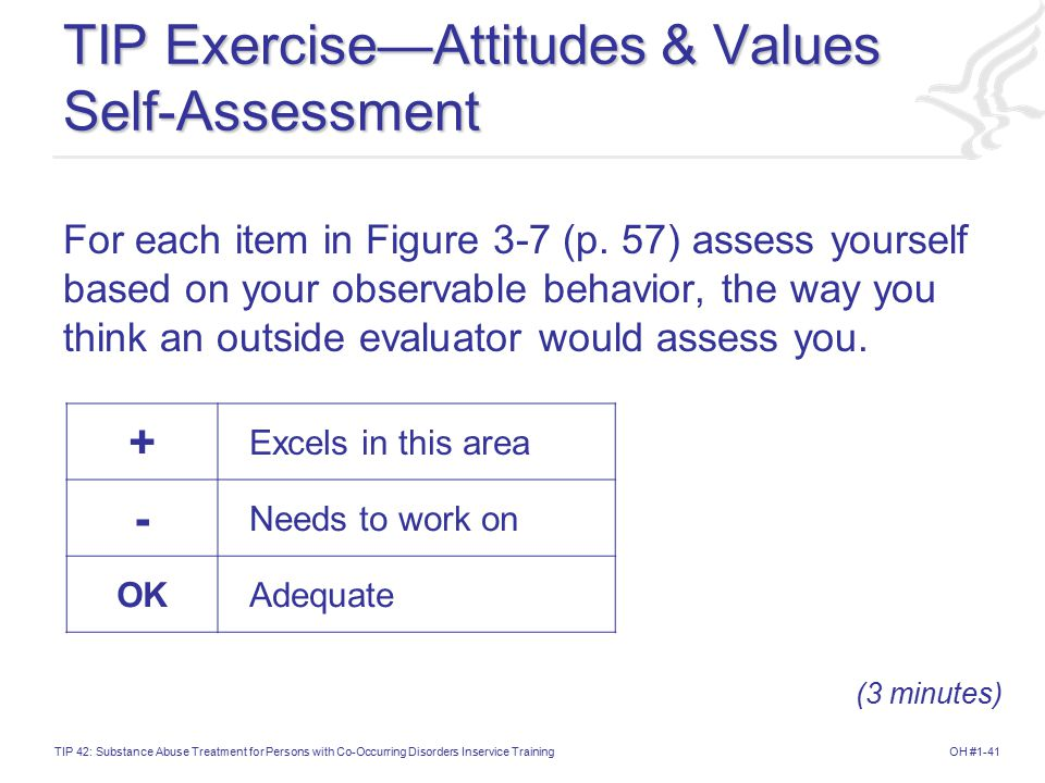 TIP Exercise—Attitudes & Values Self-Assessment