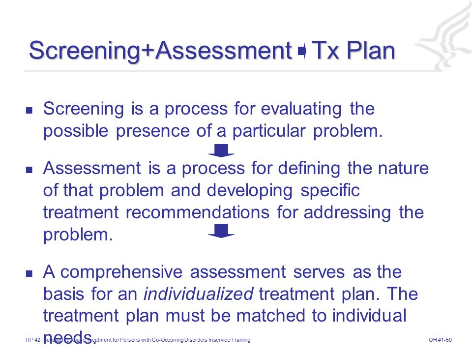 Screening+Assessment Tx Plan