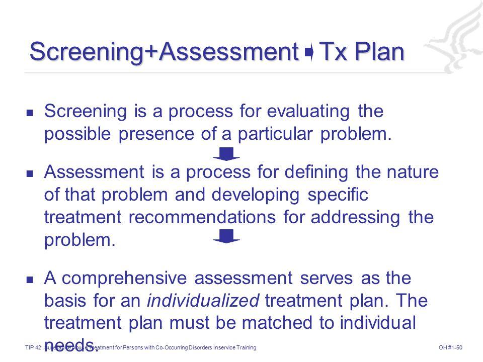 Screening+Assessment Tx Plan