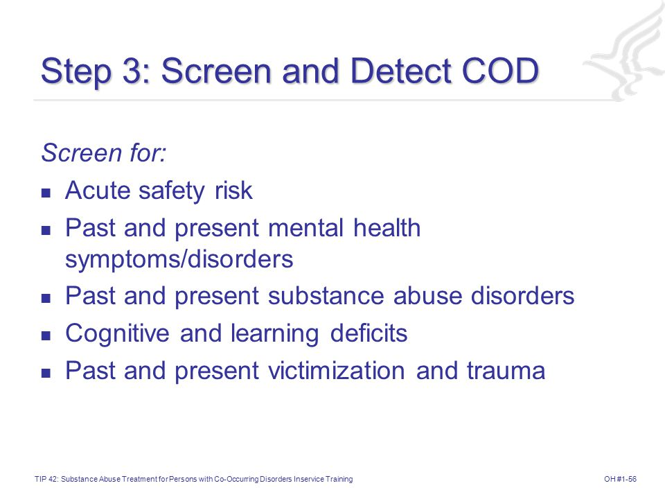 Step 3: Screen and Detect COD