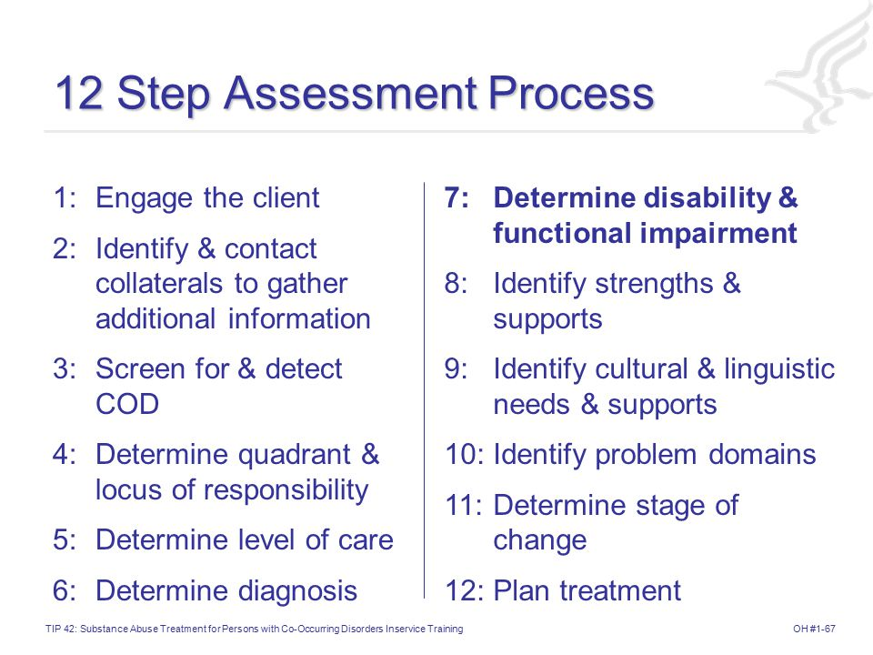 12 Step Assessment Process
