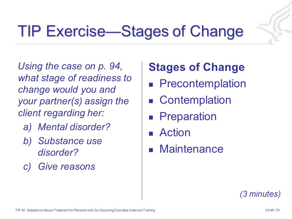 TIP Exercise—Stages of Change