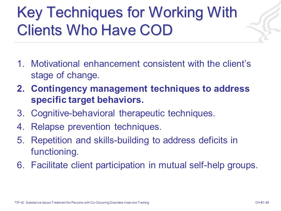 Key Techniques for Working With Clients Who Have COD