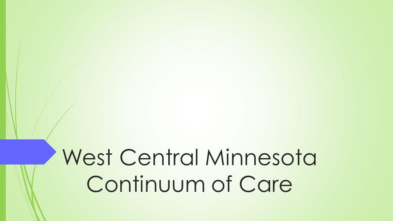 West Central Minnesota Continuum of Care