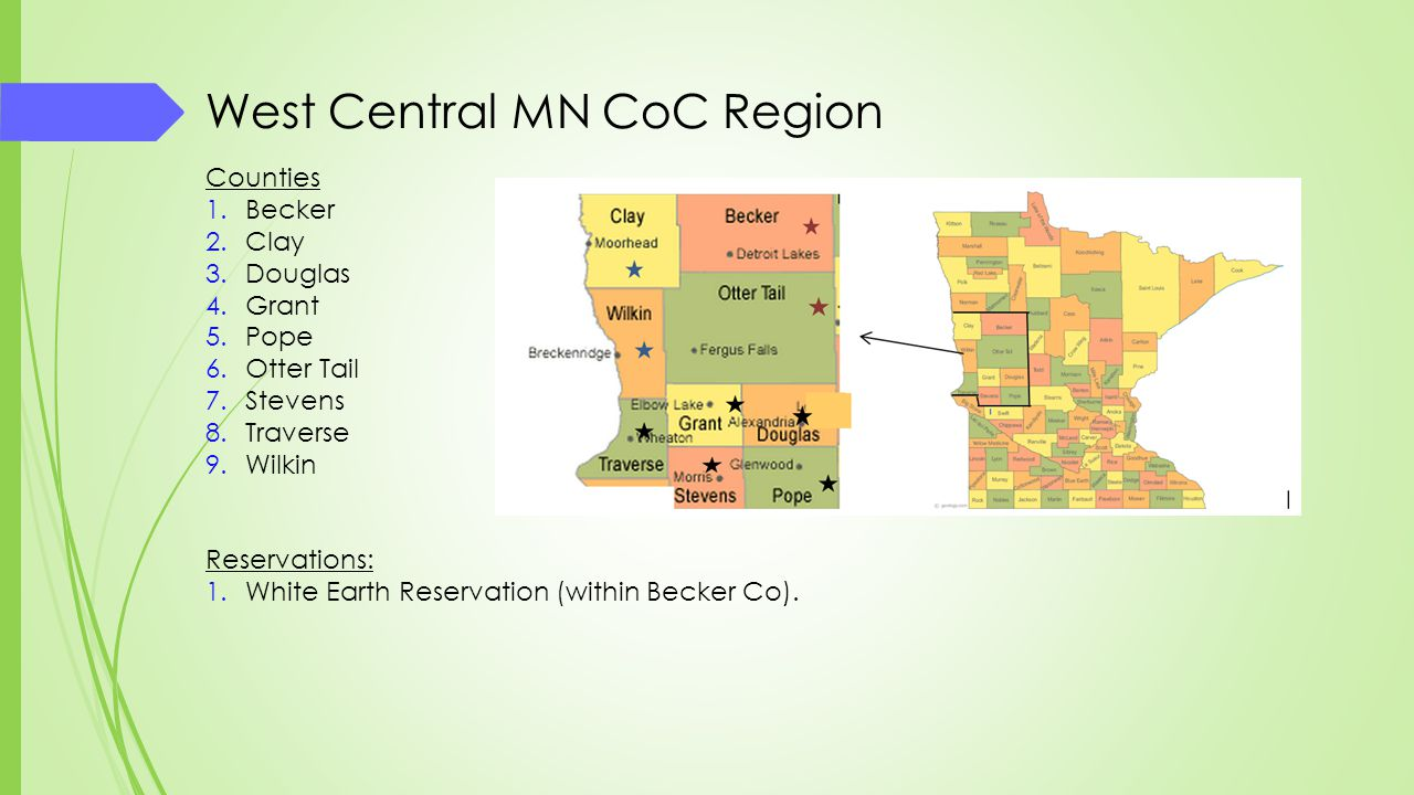 West Central MN CoC Region