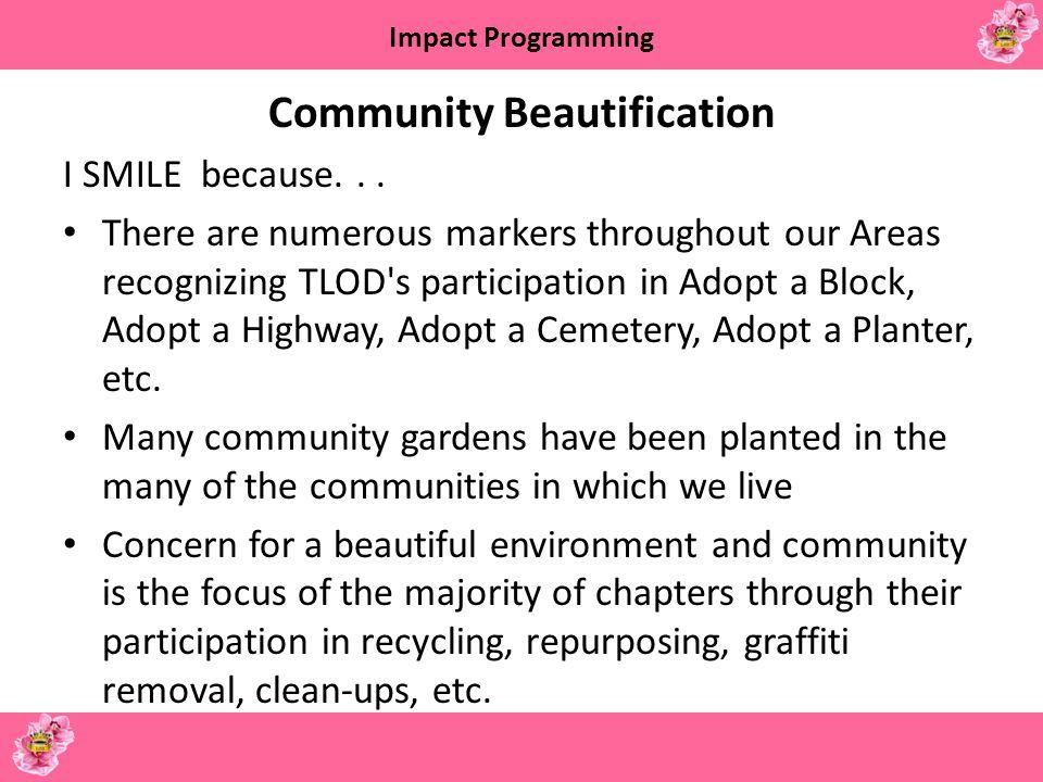Community Beautification
