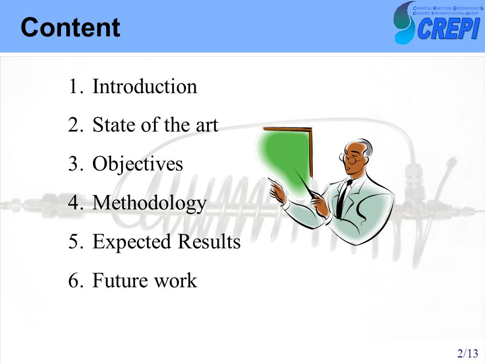 Content Introduction State of the art Objectives Methodology
