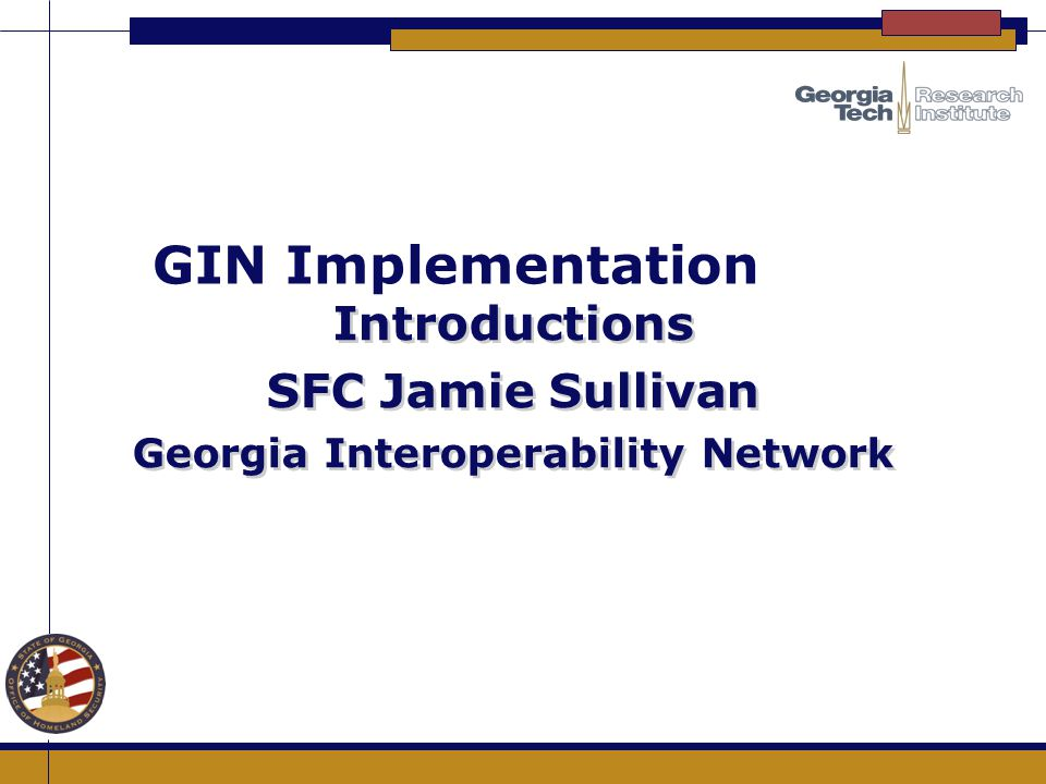 Georgia Interoperability Network