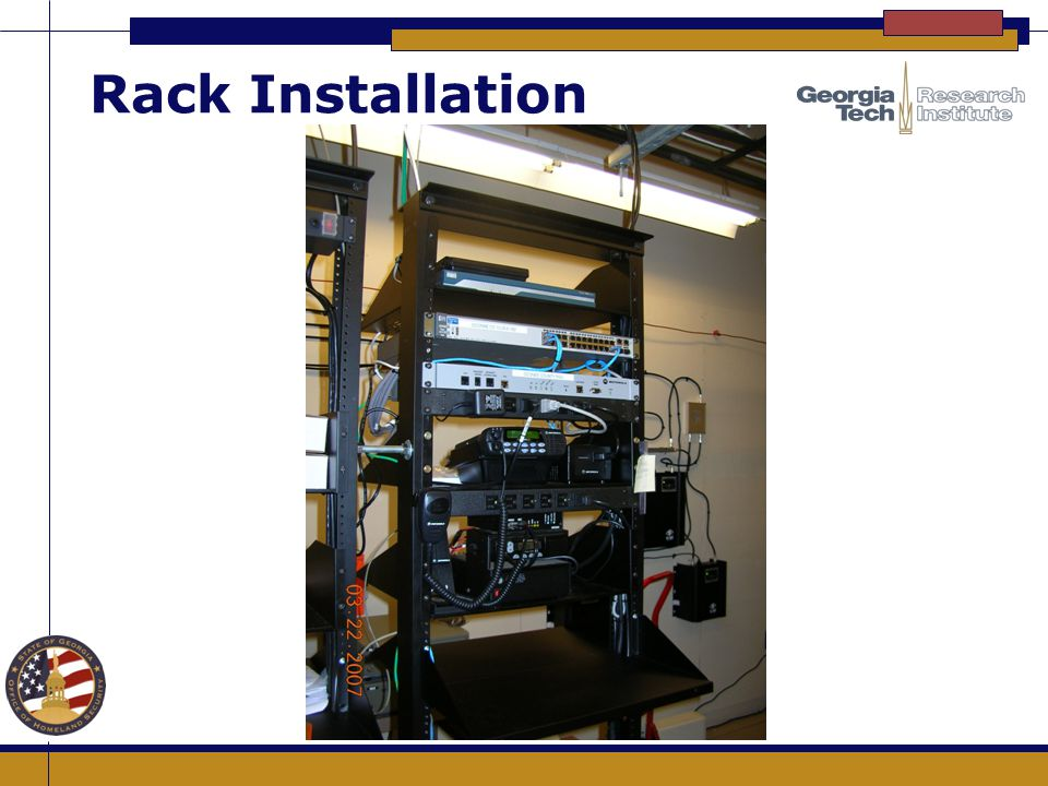 Rack Installation