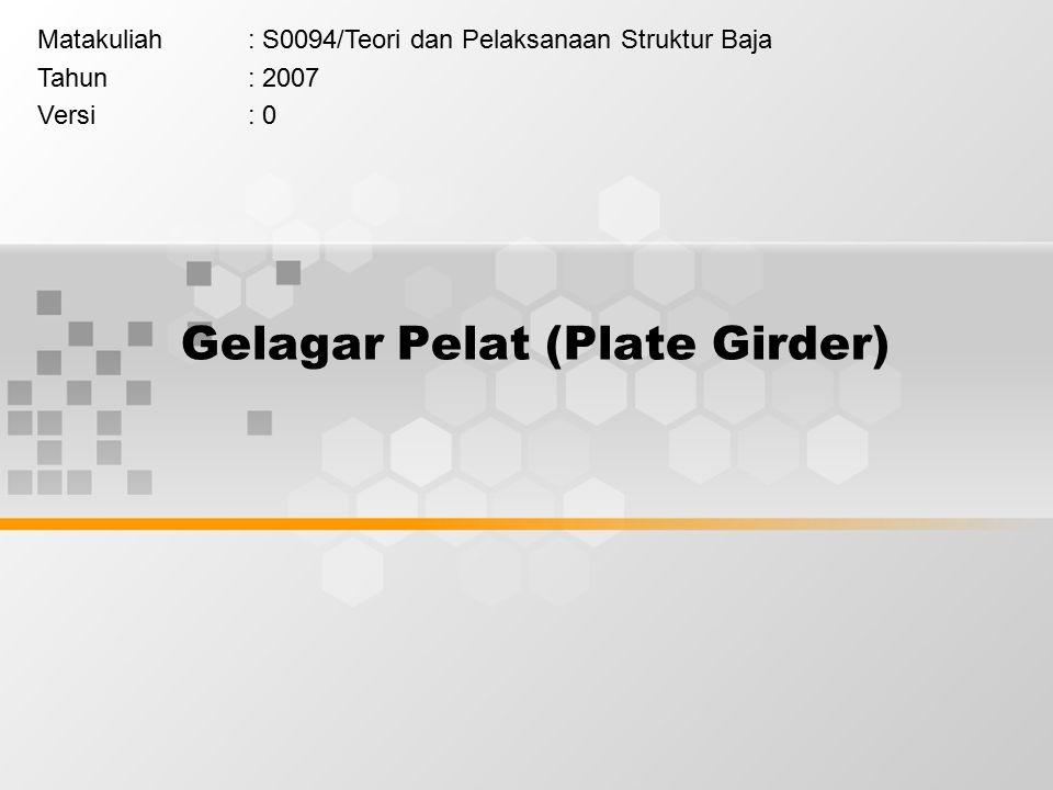 Gelagar Pelat (Plate Girder)