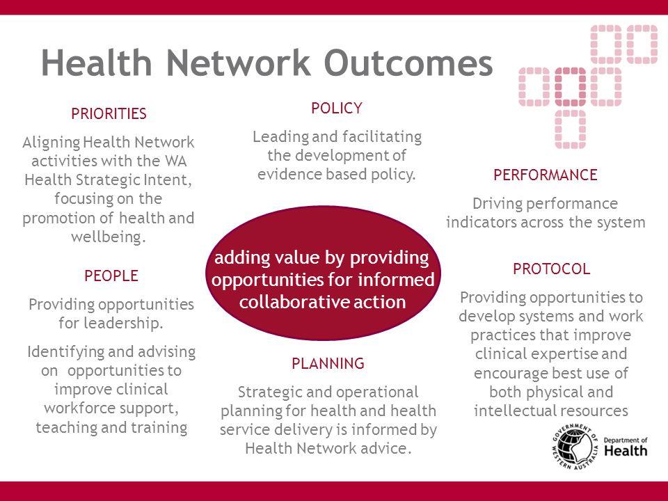 Health Network Outcomes