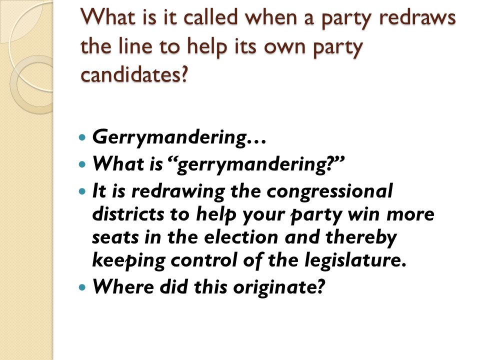 Chapter 8 Section 1 The Members of Congress ppt video online – Gerrymandering Worksheet