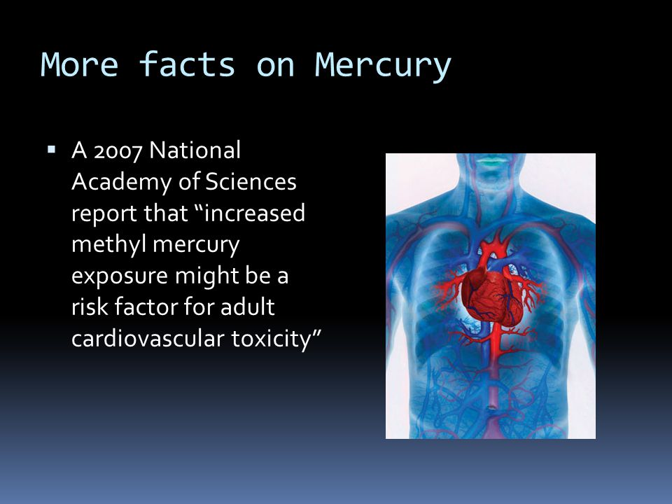 More facts on Mercury