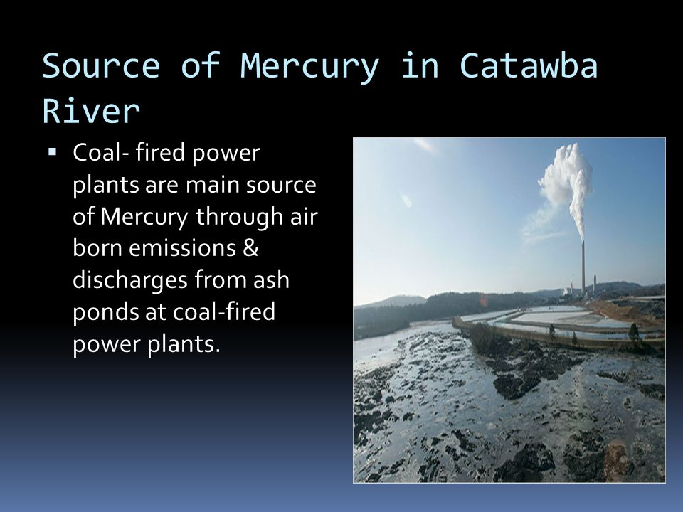 Source of Mercury in Catawba River