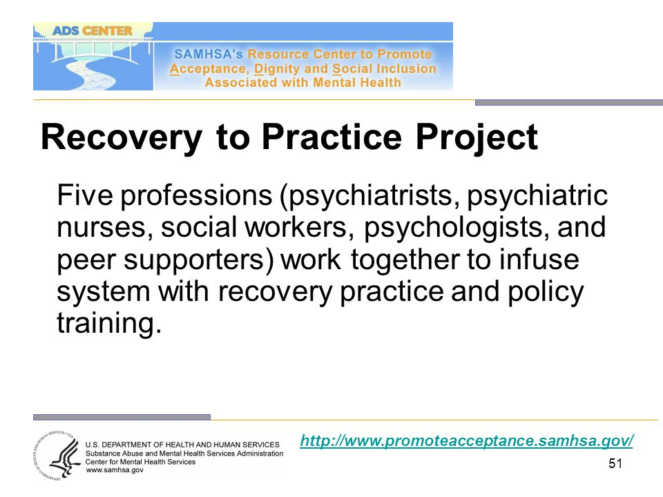 Recovery to Practice Project