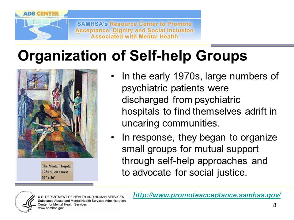 Organization of Self-help Groups