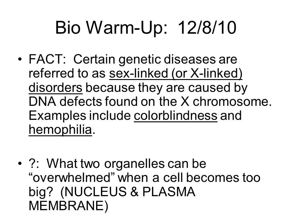 Bio Warm-Up: 12/8/10