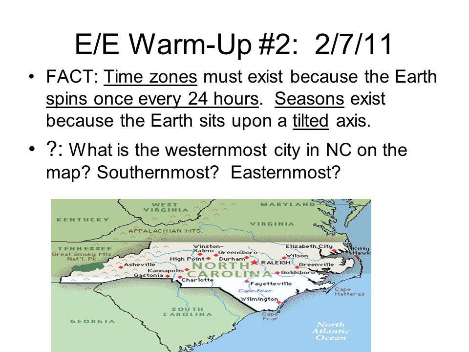 E/E Warm-Up #2: 2/7/11