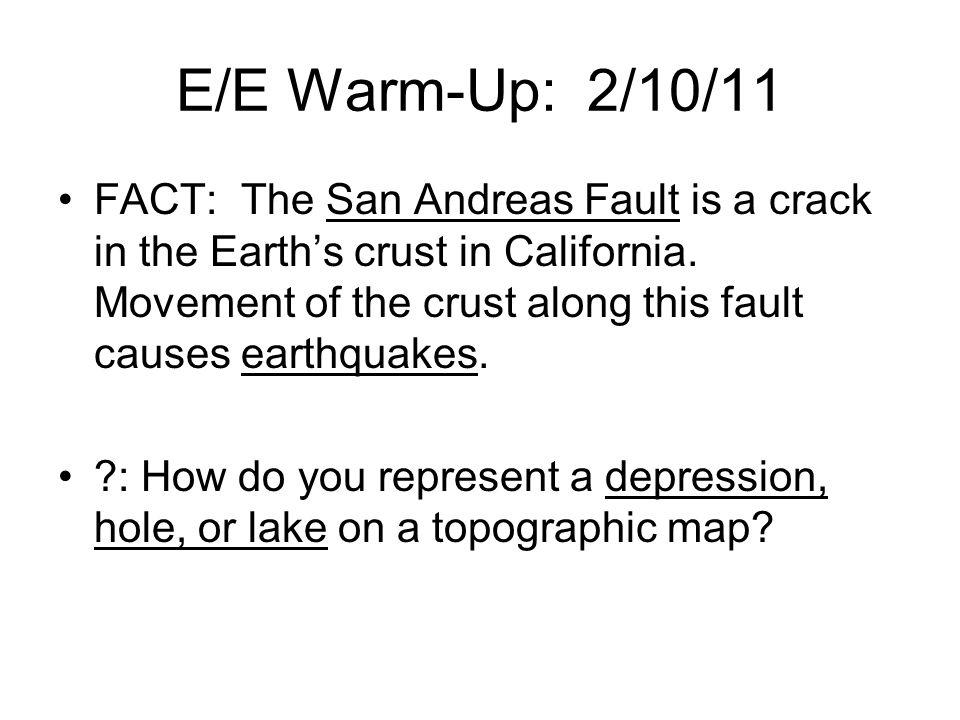 E/E Warm-Up: 2/10/11