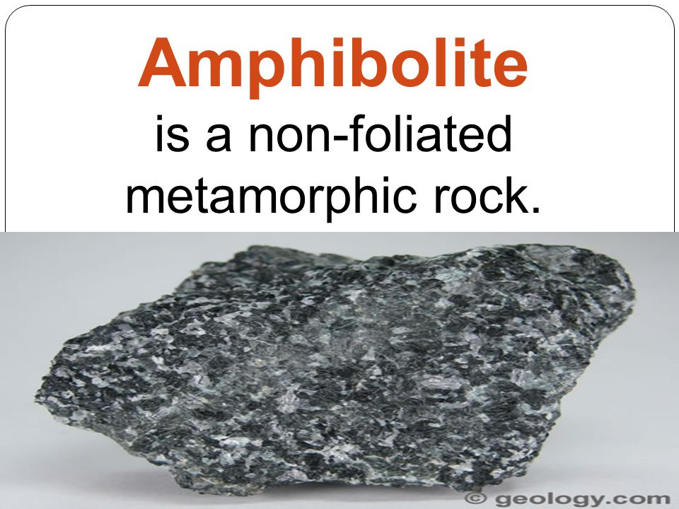 is a non-foliated metamorphic rock.