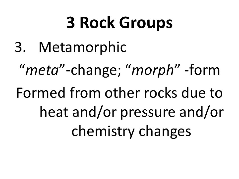 3 Rock Groups 3.