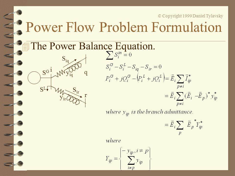 The Power Balance Equation.