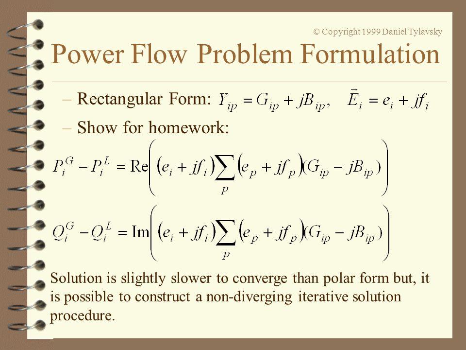 Rectangular Form: Show for homework:
