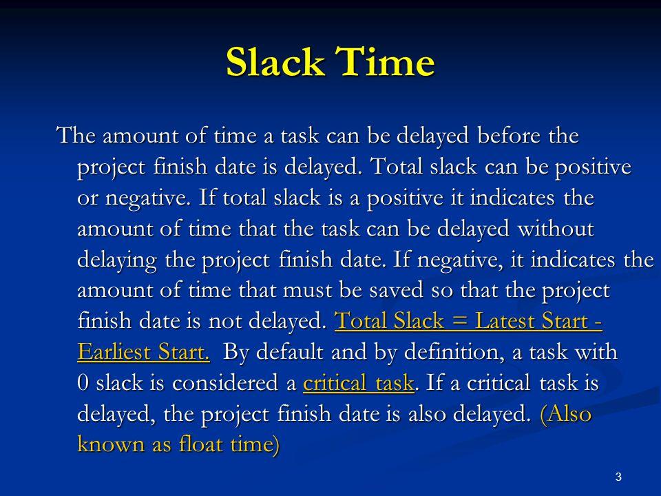 Slack Time