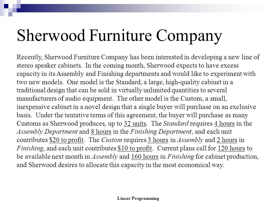 Sherwood Furniture Company