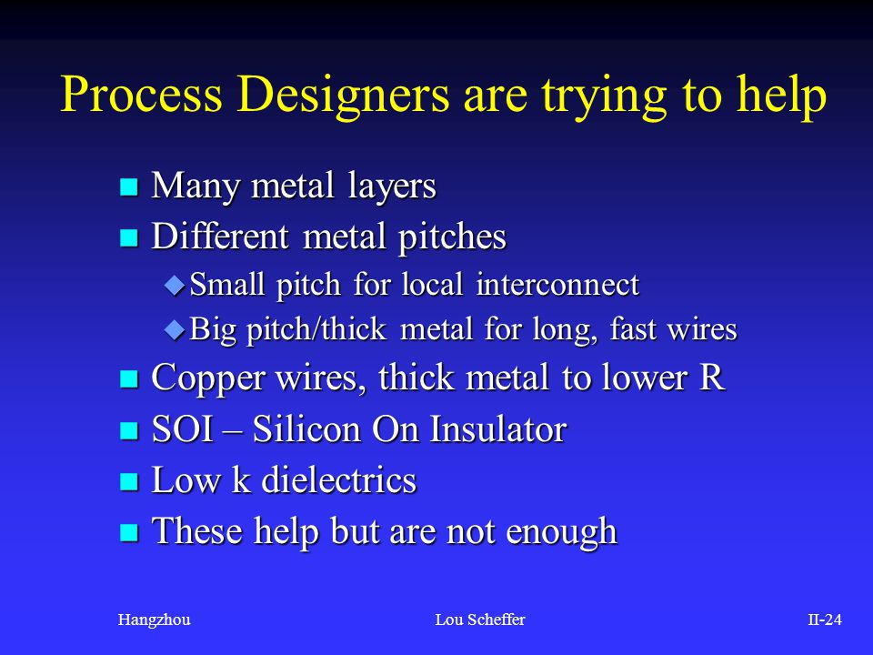 Process Designers are trying to help