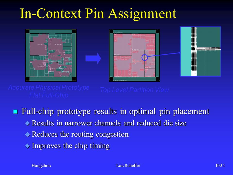 In-Context Pin Assignment
